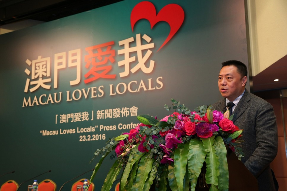 macao love locals press conference