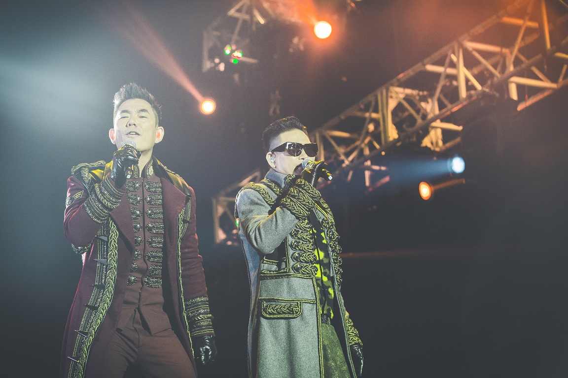 Band of Brothers Wows Cotai Arena Audience
