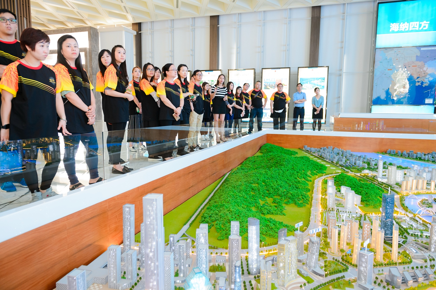 Sands China Local Team Members Tour Hengqin New Area
