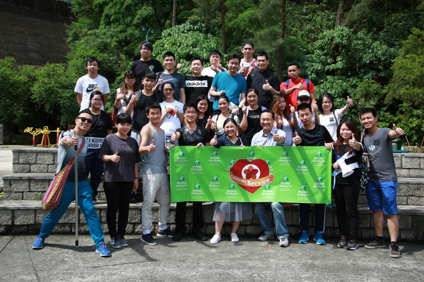 "Team members from HIMCC celebrates IHG's annual ""Celebrate Service"" Week"