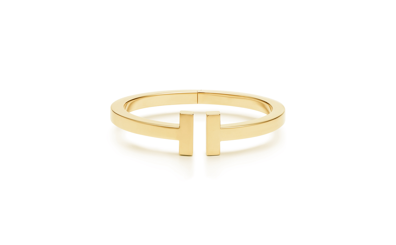 Tiffany T Square Bracelet in Gold