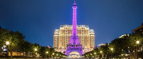 Parisian Macao Eiffel Tower 澳门巴黎人巴黎铁塔