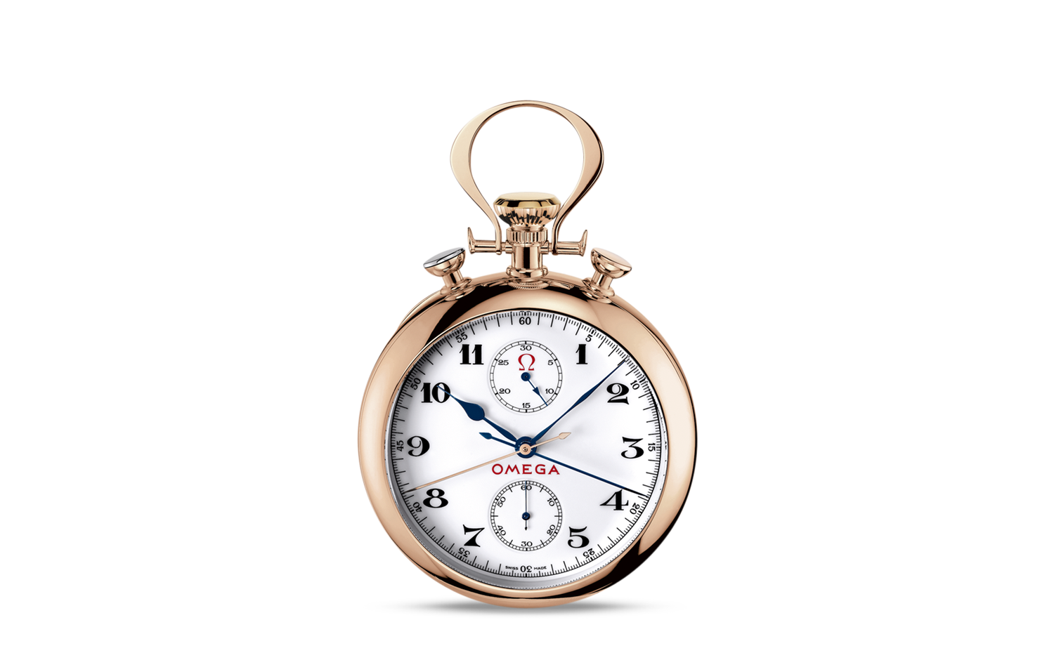OMEGA Specialities Olympic Pocket Watch 1932 - Red Gold