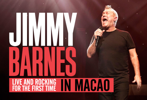 JIMMY BARNES - LIVE IN MACAO