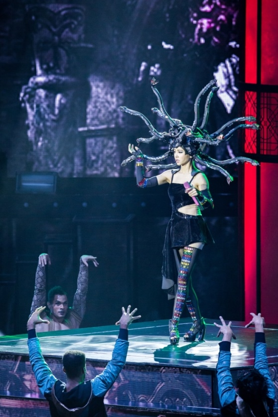 Pop Diva Jolin Tsai Dazzles at The Venetian Macao